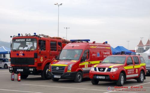 Pompierii&Smurd Transilvania Rally Show