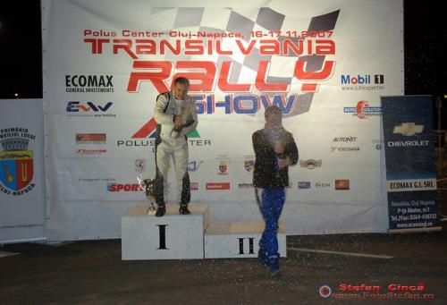 Titi Aur Jari Ketomaa Transilvania Rally Show
