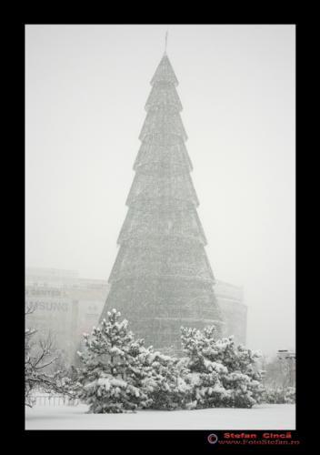 Zapada in Bucuresti ianuarie 2008