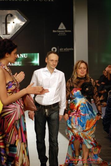 Laura Olteanu & Mihai Albu la BFW 2008