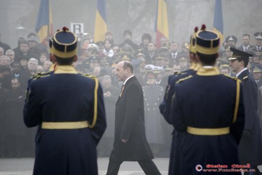 Traian Basescu-1 decembrie 2008