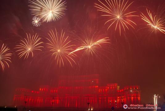 Spectacol artificii si lumini-2008