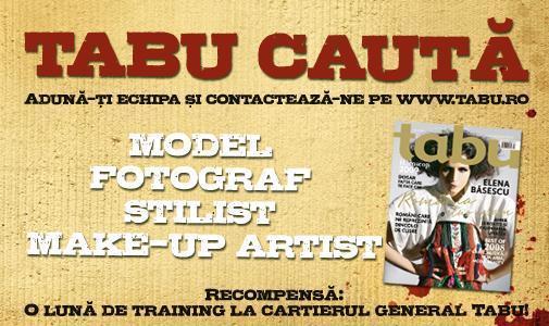 Concurs Tabu