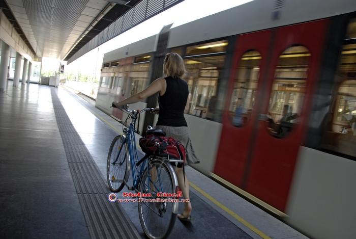 Viena: metrou si bicicleta