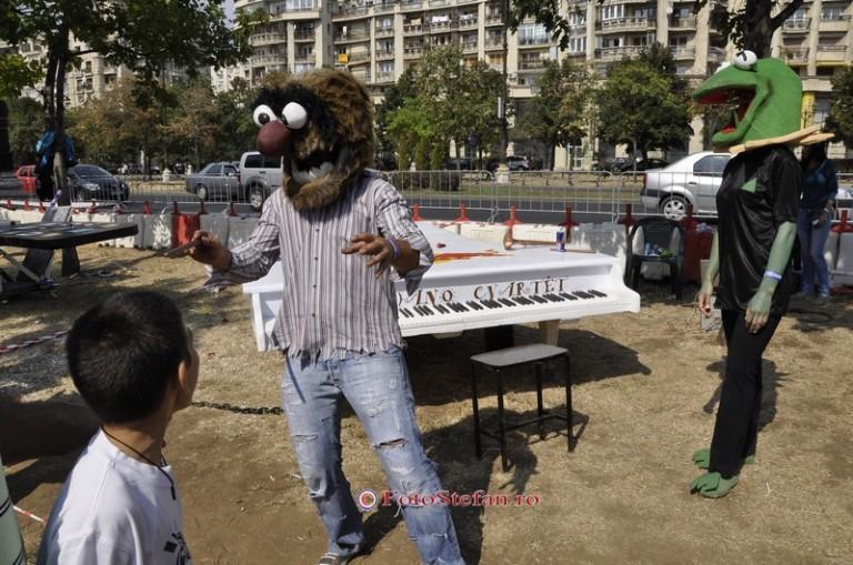 saritura cu pianul