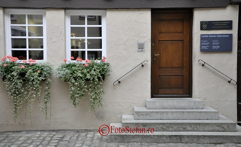 house of Gottlieb Daimler