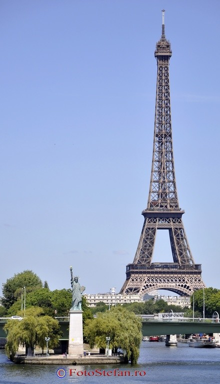 Statue of Liberty Paris France Europe photo travel