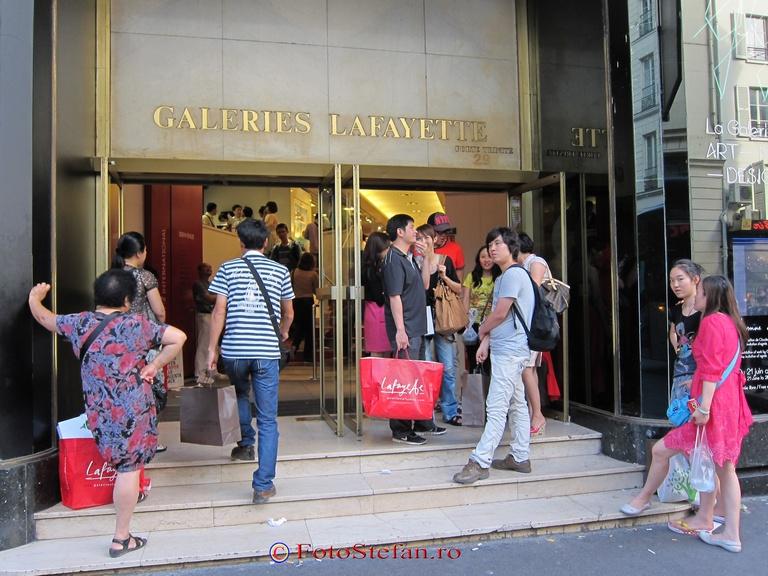 shopping center Lafayette paris