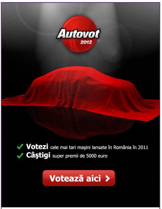 AUTOVOT 2012 – Mașina Bloggerilor