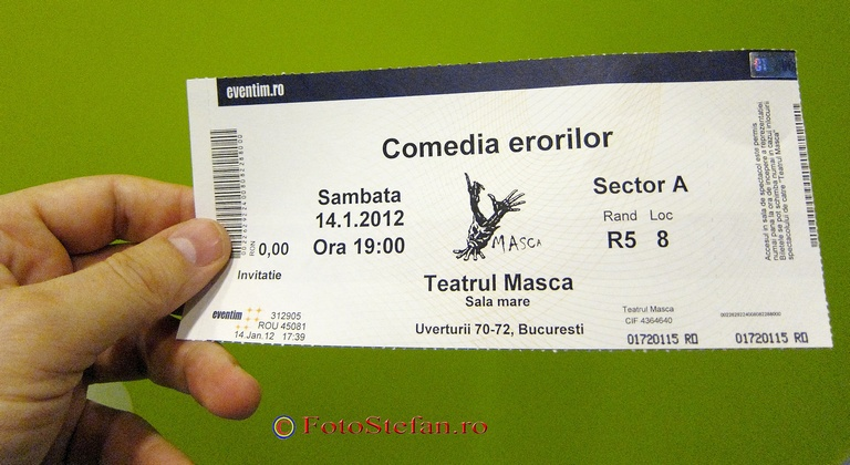bilet teatru