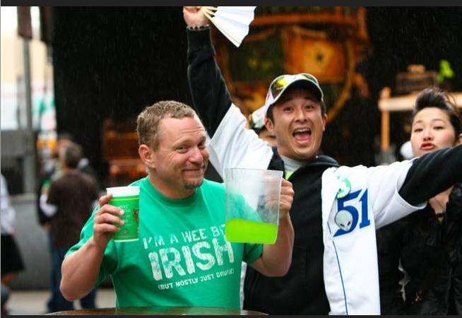 St. Patrick's Day at O'Sheas