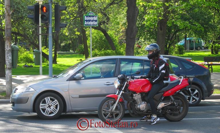 motociclista bucuresti