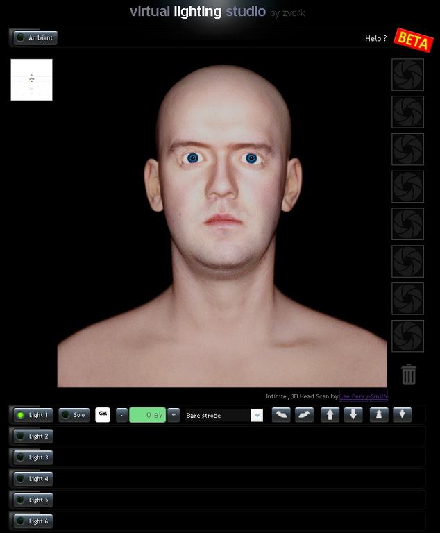 simulator lumini studio