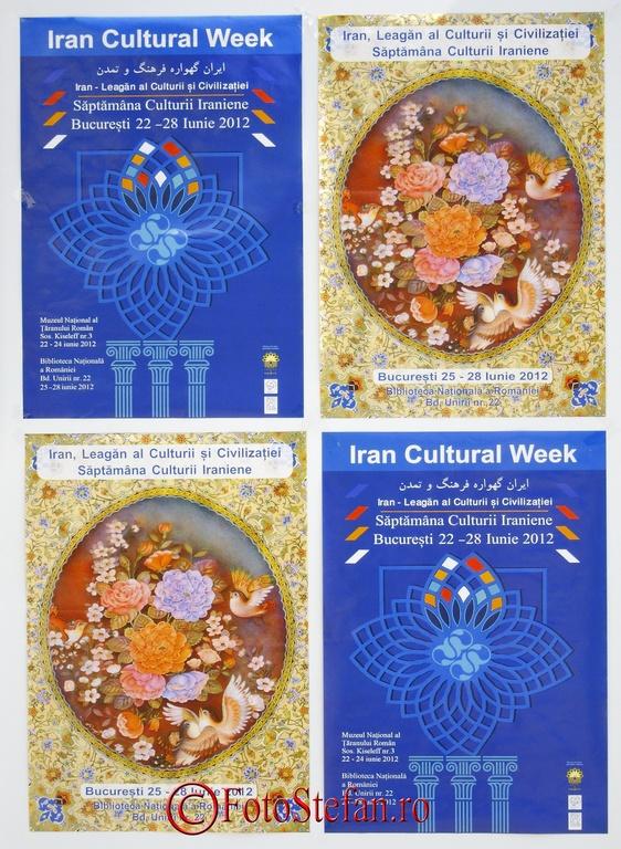 Iran Cultural week muzeul taranului roman bucuresti