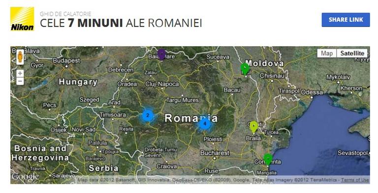minuni ale romaniei