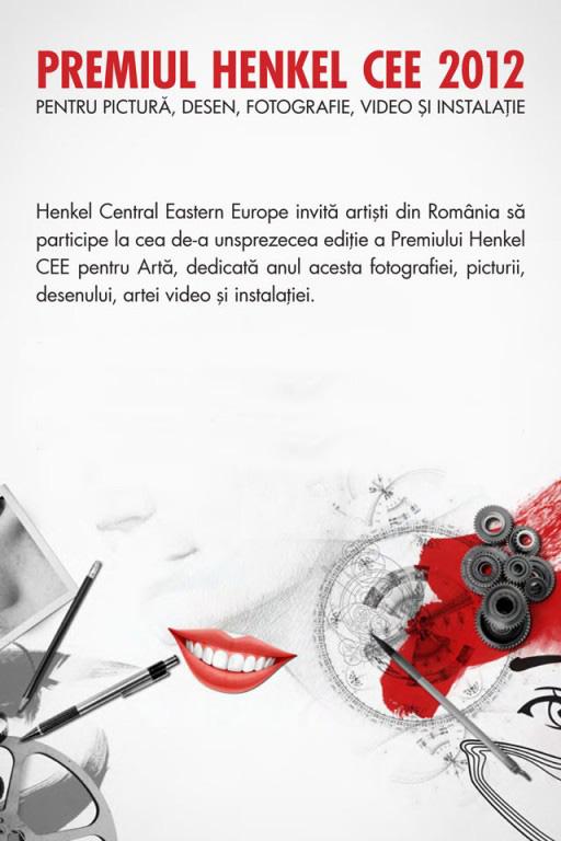 Premiul Henkel CEE pentru Artă în România – ediţia 2012