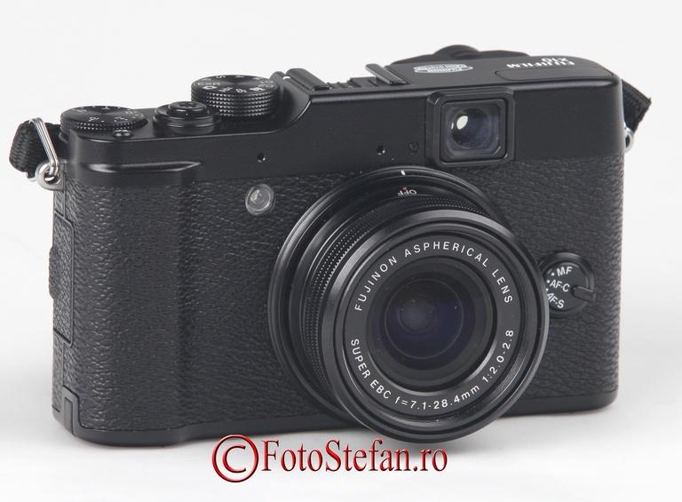 review fuji x10 aparat foto