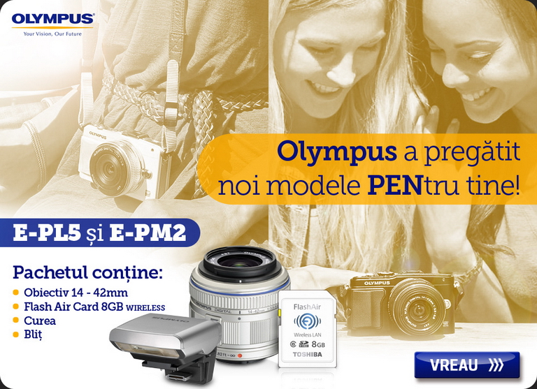 aparate foto olympus