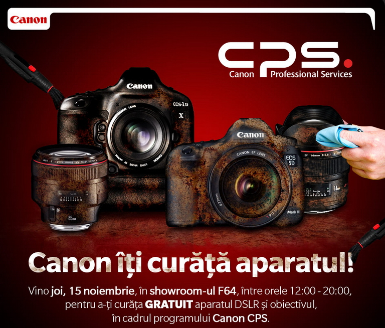 service aparat foto canon