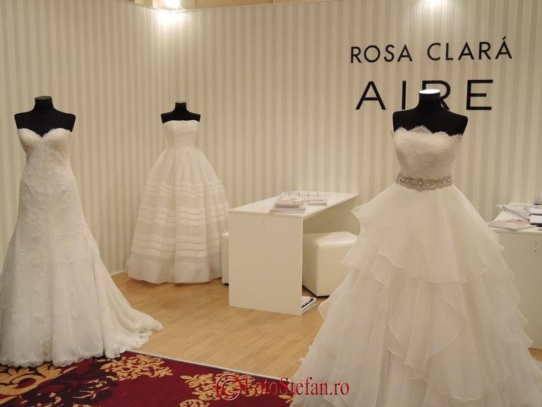 rochii de mireasa rosa clara