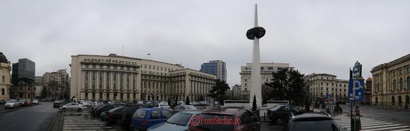 piata revolutiei bucuresti panoramic