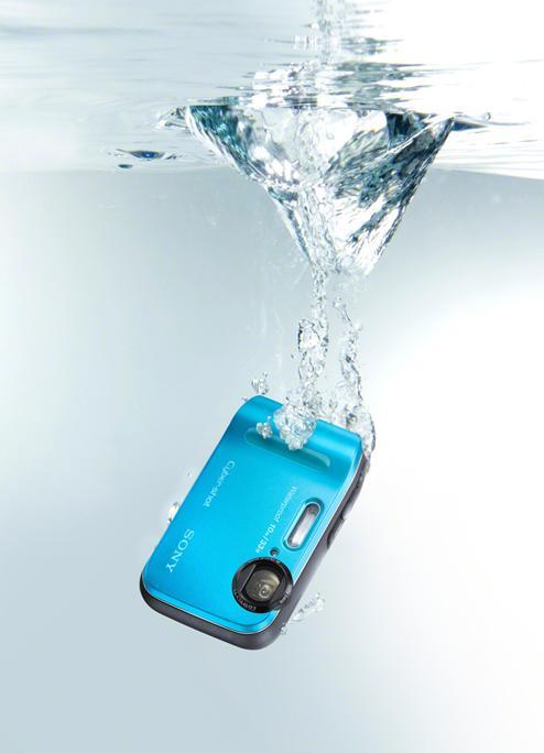 aparat foto albastru