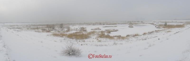 delta bucurestiului iarna panoramica