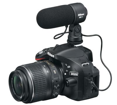 microfon extern nikon d5200