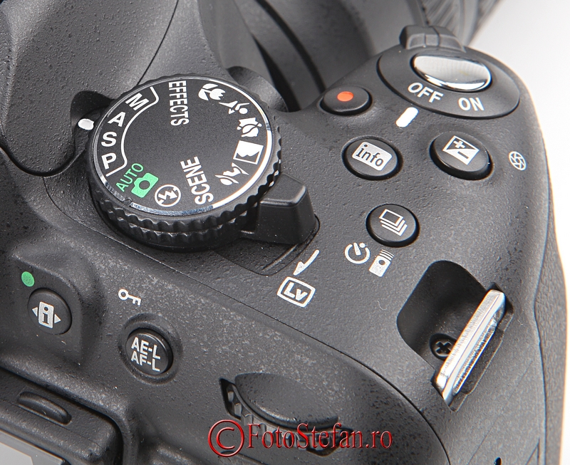buton nikon d5200