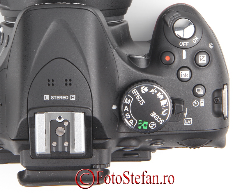 microfon stereo nikon d5200