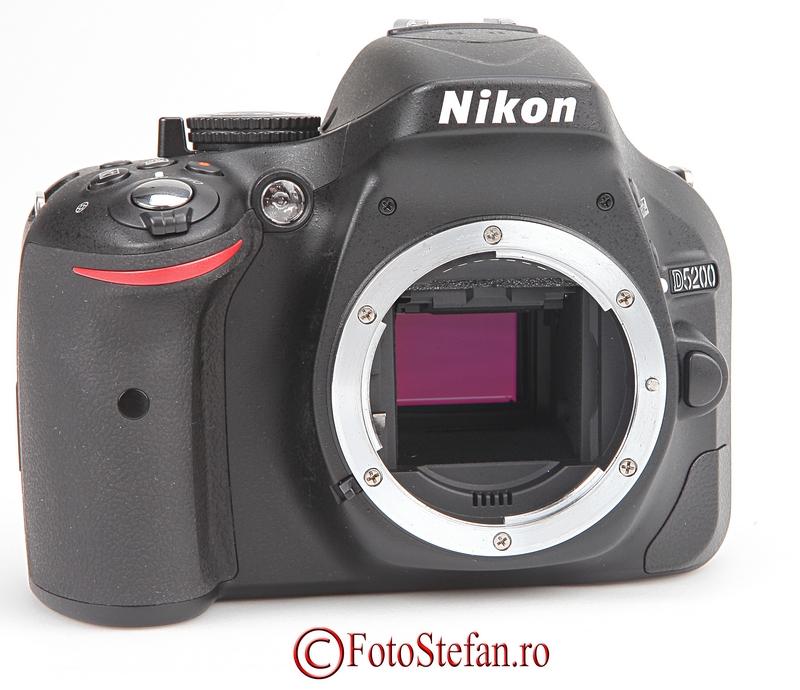 senzor nikon d5200