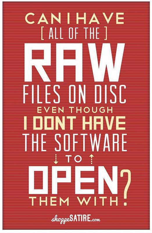 poster despre formatul raw