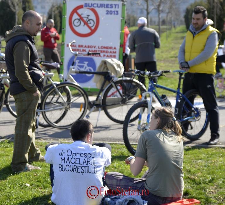 marsul biciclistilor din Bucuresti