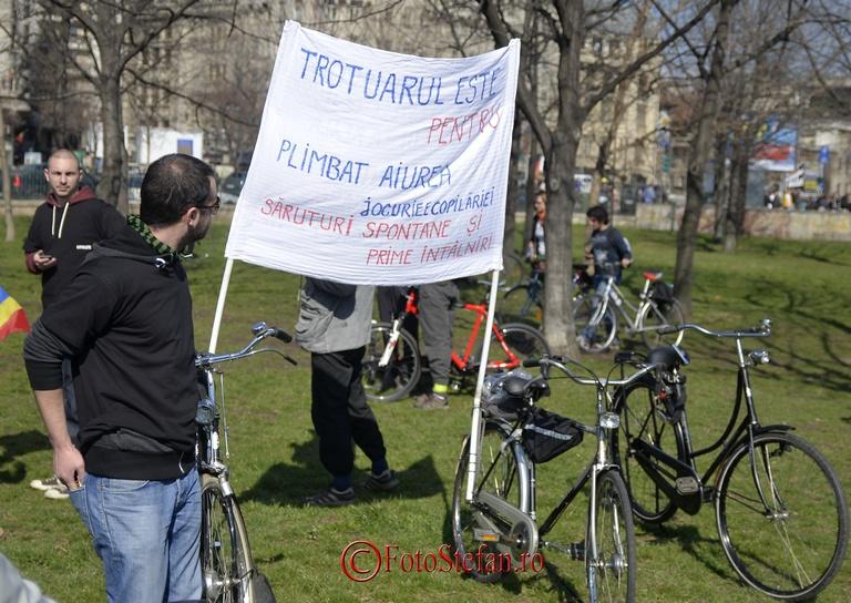 protestul biciclistilor bucuresteni