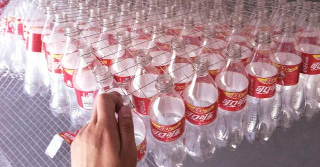 sticla plastic coca cola