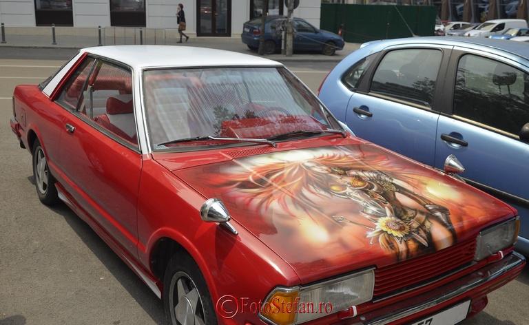 capota auto decorata