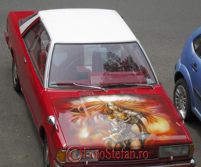 capota auto desenata