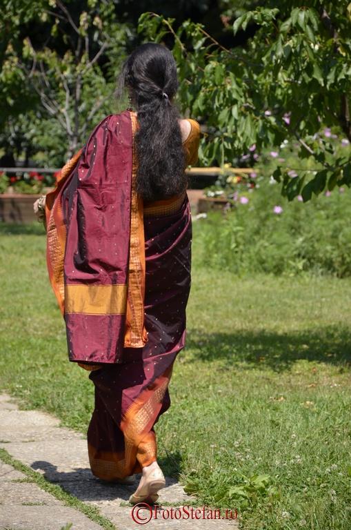 rochie sari muzeul satului