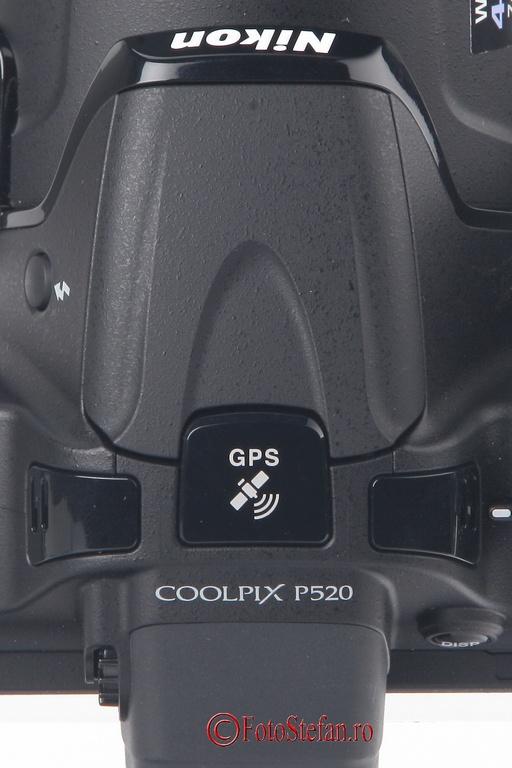 gps nikon coolpix p520