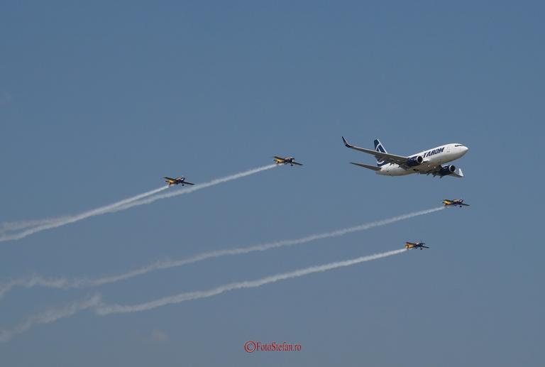 Hawks of Romania  TAROM, Boeing 737