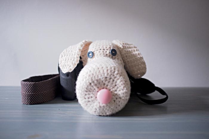 husa tricotata dslr