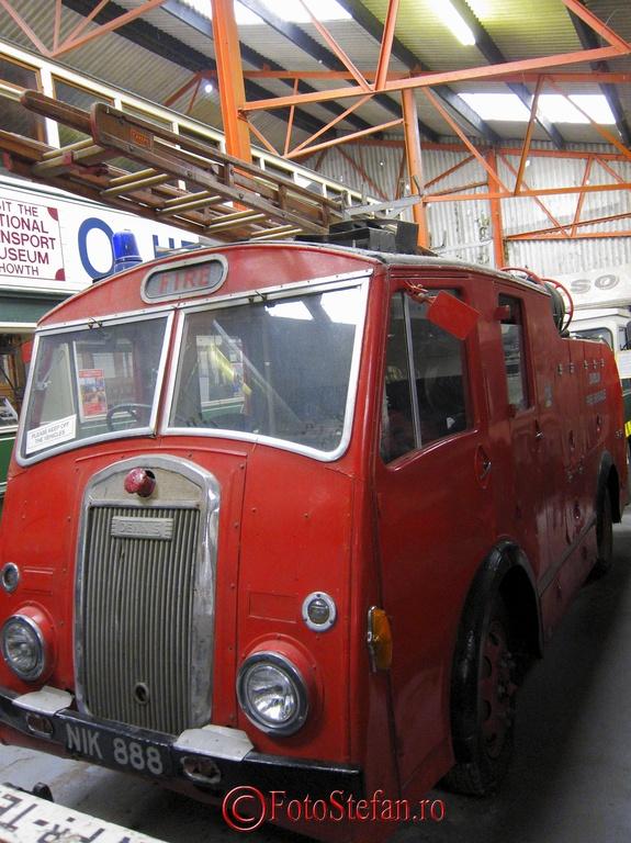 veche masina pompieri