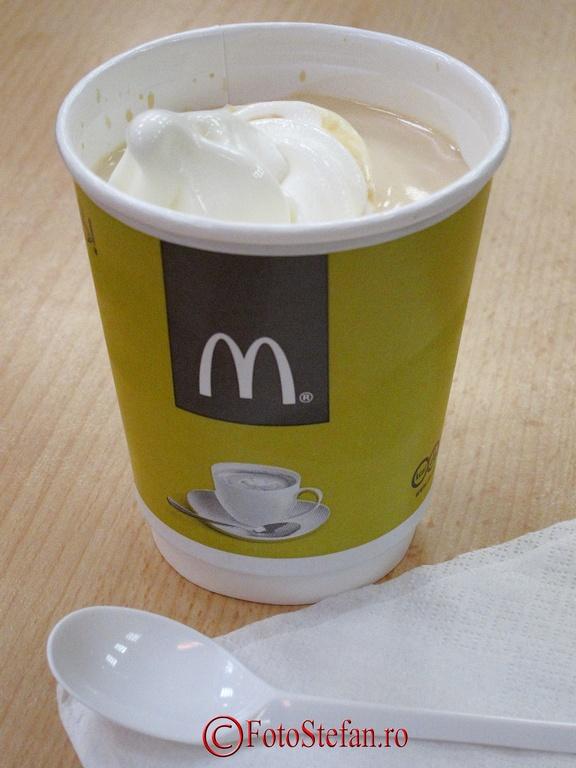 inghetata cu cafea mcdonalds