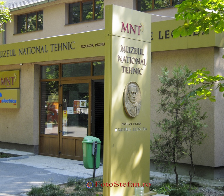Muzeul Tehnic Dimitrie Leonida parcul carol