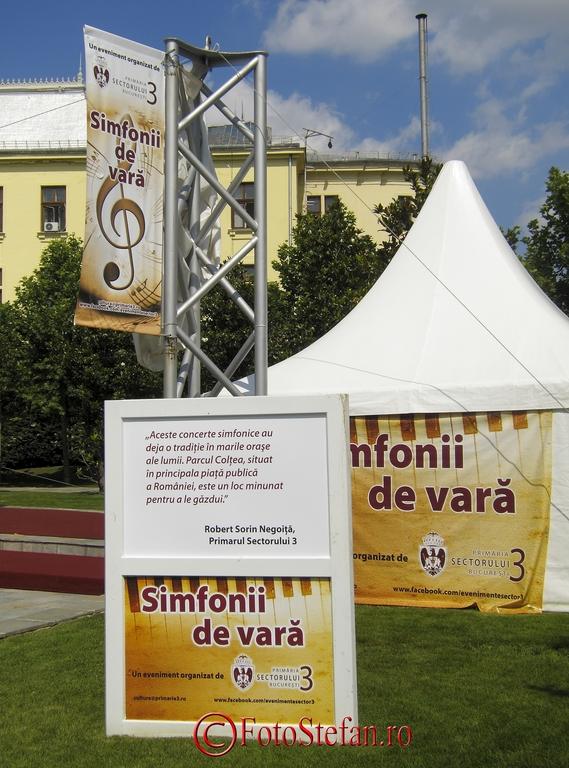 Simfonii de vara parcul coltea bucuresti