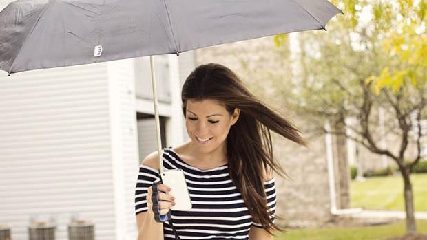 umbrela pentru fotograf