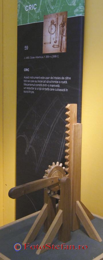 cric din lemn