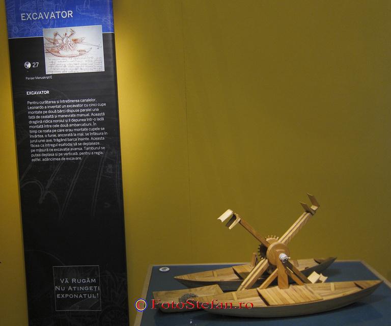 excavator Leonardo da Vinci