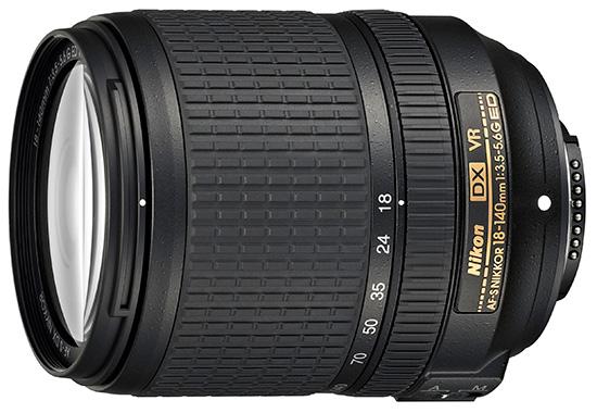 Nikon AF-S DX 18–140mm f/3.5–5.6G ED VR