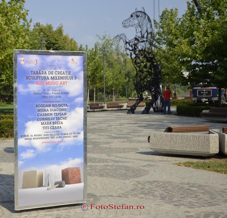 Tabăra de Creaţie-Sculptura mileniului 3- Eco-Music-Art